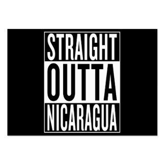 straight outta Nicaragua Large Business Card