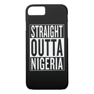straight outta Nigeria iPhone 7 Case