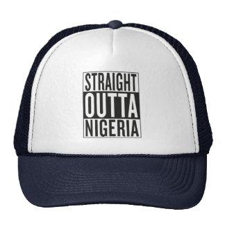 straight outta Nigeria Trucker Hat