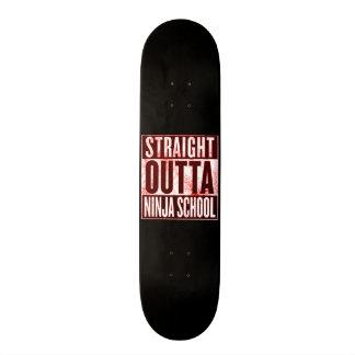 Straight Outta Ninja School Custom Pro Park Board Skate Board Decks