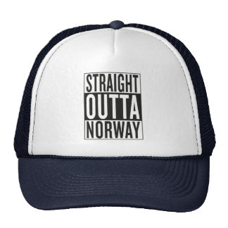 straight outta Norway Trucker Hat