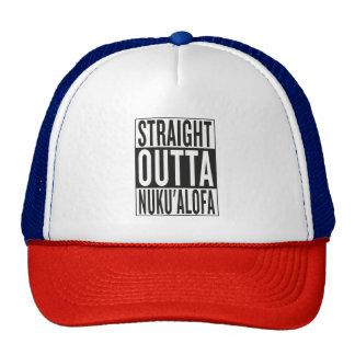 straight outta Nuku'alofa Trucker Hat