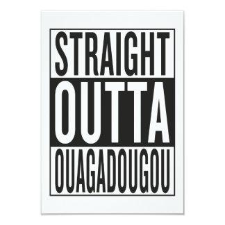 straight outta Ouagadougou Card