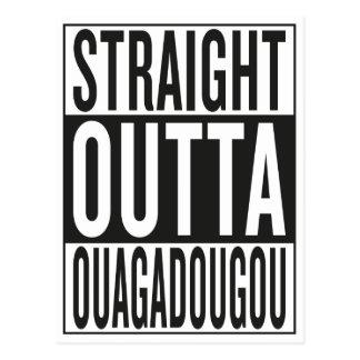 straight outta Ouagadougou Postcard