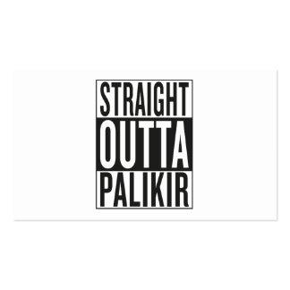 straight outta Palikir Business Card