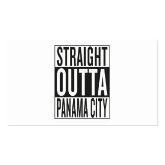 straight outta Panama City Business Card