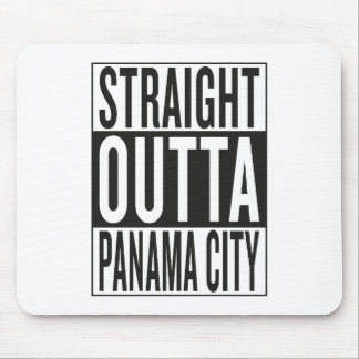 straight outta Panama City Mouse Pad