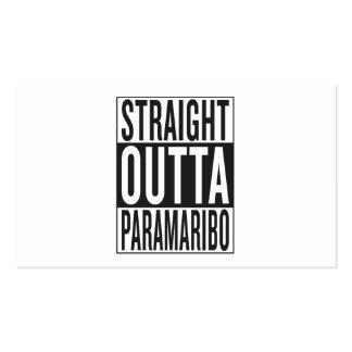 straight outta Paramaribo Business Card