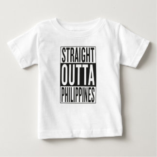 straight outta Philippines Baby T-Shirt