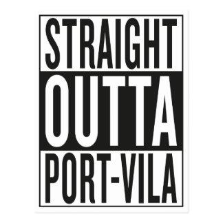 straight outta Port-Vila Postcard