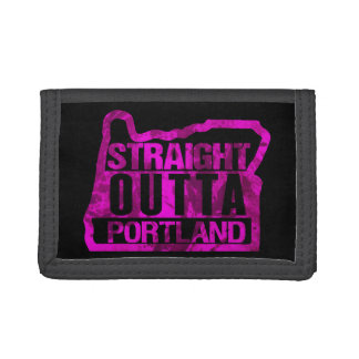 Straight Outta Portland Trifold Wallet