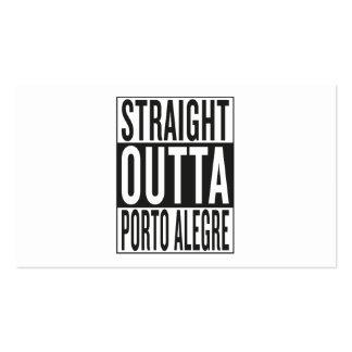 straight outta Porto Alegre Business Card