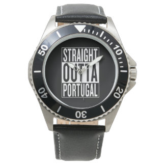 straight outta Portugal Watches