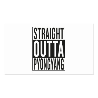 straight outta Pyongyang Business Card