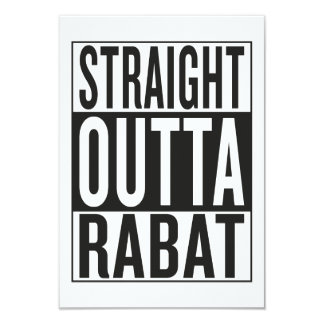 straight outta Rabat Card