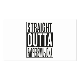 straight outta Rapperswil-Jona Business Card