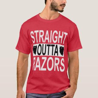 Straight Outta Razors   FB.com/USAPatriotGraphics T-Shirt