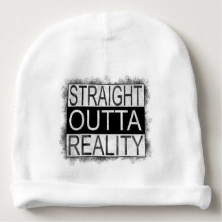 Straight outta REALITY Baby Beanie