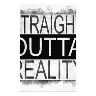 Straight outta REALITY Stationery