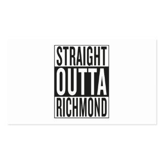 straight outta Richmond Business Card