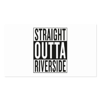 straight outta Riverside Business Card