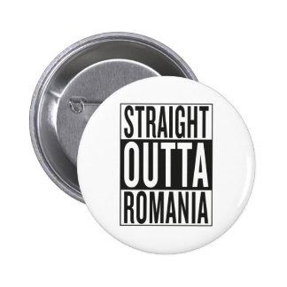 straight outta Romania 2 Inch Round Button