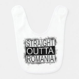 Straight Outta Romania Bib