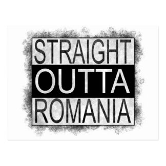 Straight Outta Romania Postcard