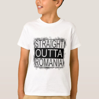 Straight Outta Romania T-Shirt
