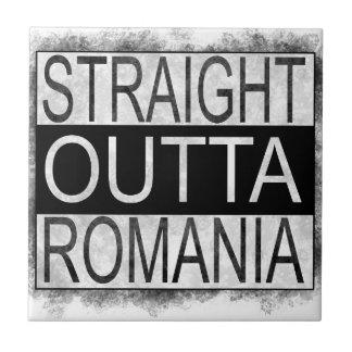 Straight Outta Romania Tile