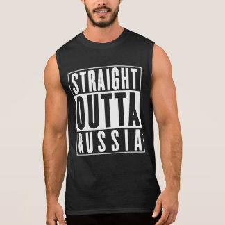 Straight Outta Russia Sleeveless Shirt