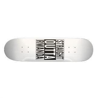 straight outta Rwanda Custom Skate Board