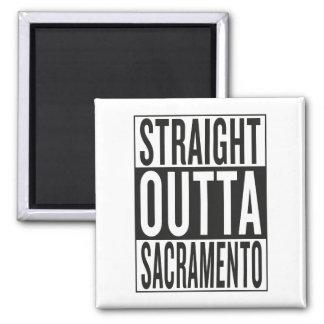 straight outta Sacramento Magnet
