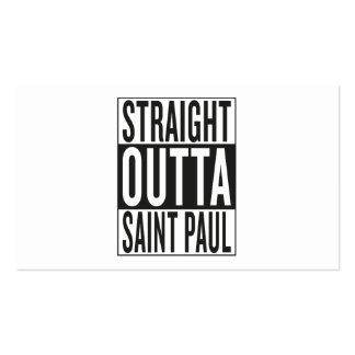 straight outta Saint Paul Business Card
