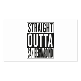 straight outta San Bernardino Business Card