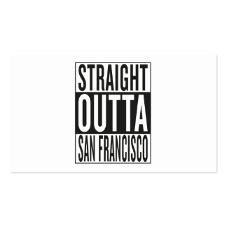 straight outta San Francisco Business Card