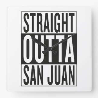 straight outta San Juan Wallclocks