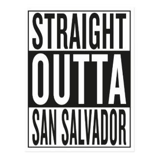 straight outta San Salvador Postcard