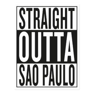 straight outta Sao Paulo Postcard