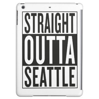 straight outta Seattle iPad Air Covers