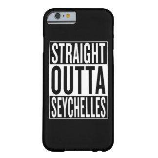 straight outta Seychelles Barely There iPhone 6 Case