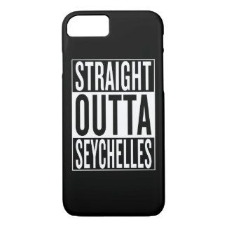 straight outta Seychelles iPhone 7 Case