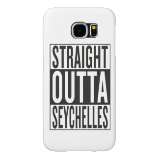 straight outta Seychelles Samsung Galaxy S6 Cases