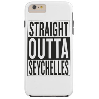 straight outta Seychelles Tough iPhone 6 Plus Case