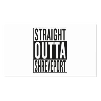 straight outta Shreveport Business Card