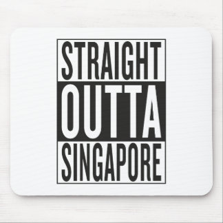 straight outta Singapore Mouse Pad