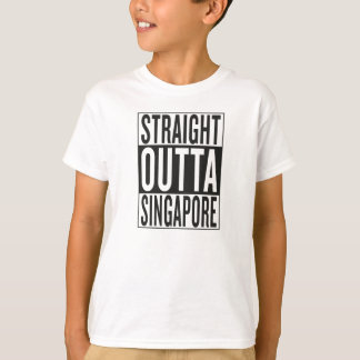 straight outta Singapore T-Shirt