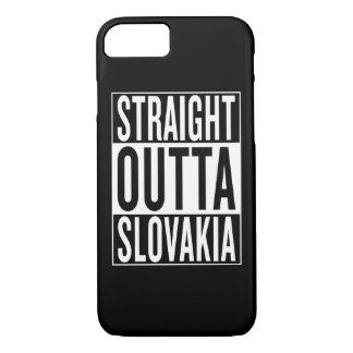 straight outta Slovakia iPhone 7 Case
