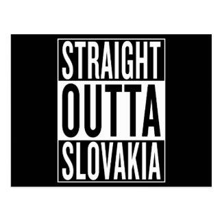 straight outta Slovakia Postcard