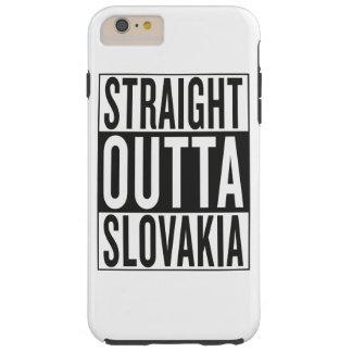straight outta Slovakia Tough iPhone 6 Plus Case